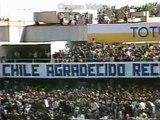 Transmisión Visita de Juan Pablo II:  Recibimiento del Presidente Pinochet (1987)