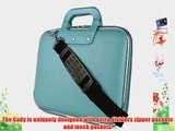 Cady Messenger Cube - SKY BLUE Ultra Durable Tactical Leather -ette Bag Case fits Microsoft