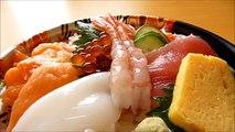 [ Japanese cuisine ] Eating Japanese food Washoku Sushi  KaisendonSashimi Bowl  海鮮丼