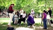 Miteinander im Park - Mensch und Tier im Einklang