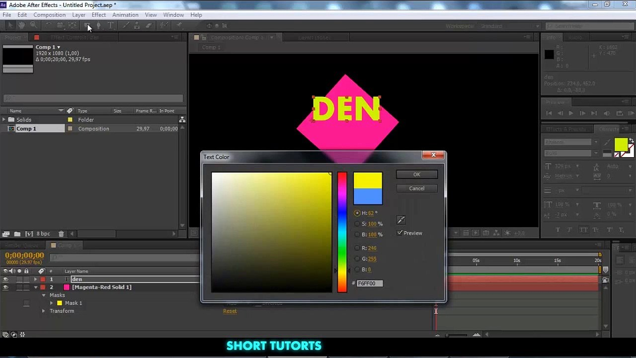 How to Create Inner Shadow in After Effects Tutorial