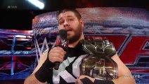 Kevin Owens interrupts John Cena Raw June 22 2015