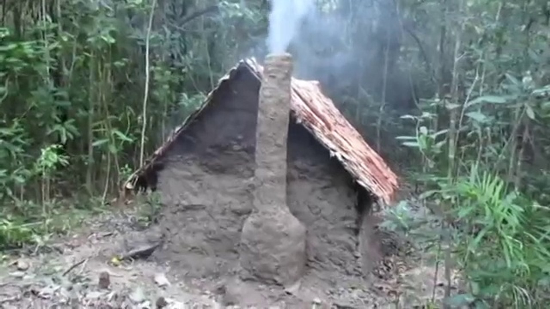 Fabriquer Un Petit Pont De Bois construction d'un abri en torchis