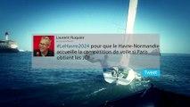 Les Havrais mobilisés pour la candidature Le Havre-Normandie 2024