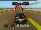 Lap Around Stunt Track on Nascar Racing 2003.wmv