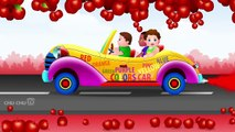Let's Learn The Colors- 3D Animation - English Nursery Rhymes - Nursery Rhymes - Kids Rhymes - for children with Lyrics