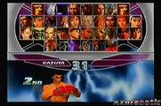 Tekken Tag Tournament: Kazuya Mishima/Jun Kazama (Arcade Playthrough)