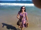 Rio de Janeiro, praia de Ipanema.