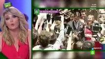 Anna Simon comenta las bodas de los futbolistas en Zapeando