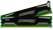 Crucial Ballistix Sport 16GB Kit (8GBx2) DDR3 1600 MT/s (PC3-12800) CL9 @1.5V UDIMM 240-Pin Memory BLS2KIT8G3D1609DS1S00