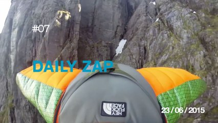 DAILY ZAP #07 : Extreme Kiteboarding in the Netherlands / Adr1ft - Trailer / Secret stash /