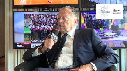 {Interview} Jean-Michel Aulas - Président de l'OL et du Jury Sport Numericus 2015