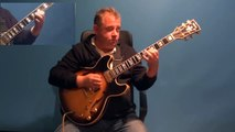 How to Play Jazz Guitar alone in Jazz Style using Jazz Standard Autumn Leaves  - GRP GUITAR LESSONS