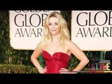 Red Carpet Trend: Stacey Keibler Reese Witherspoon Red Dresses 2012 Golden Globes