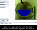 Light in Isotropic Media Virtual Lab at Uned Labs   easy physics experiments,   physics experiments