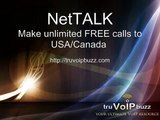 NetTalk-Unlimited FREE calls to USA/Canada and FREE conference calls
