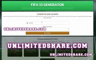 FIFA 15 Ultimate Team Coins Hack PS3 PS4 XBOX ONE XBOX 360 PC Unlimited