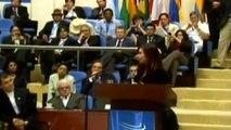 26 de NOV. Homenaje a Néstor Kirchner Cumbre de Unasur. Cristina Fernández de Kirchner