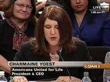 Dr. Charmaine Yoest Testifies Before the Senate Judiciary Committee