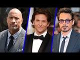 Highest Paid Actors Of 2014 | Robert Downey Jr, Bradley Cooper, Dwayne Johnson