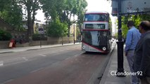 London Buses Route 8 New Routemaster LTZ1272 LT272
