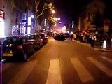 les émeutes du 6 mai à Bastille, rue de lyon