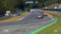 Un pilote de Formule 3 s'envole à Spa Francorchamps