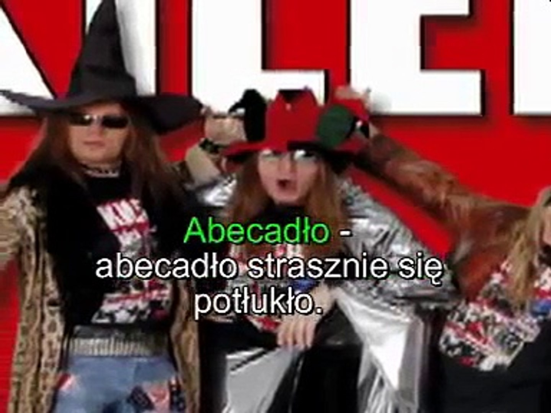Abecadło Julian Tuwim Karaoke Bez Wokalu Kilersi