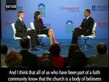 Barack Obama - COMPASSION FORUM 4/5 (Captioned) 04/13/2008