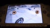 Gran Turismo PSP EVO ice/snow drifting.