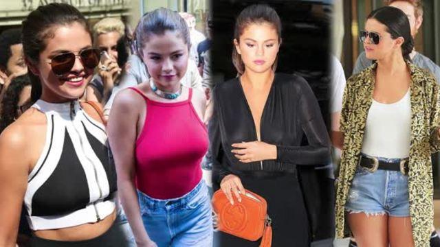 Selena Gomez Rocks Skin-Tight Fashion. http://bit.ly/2BuUAGT