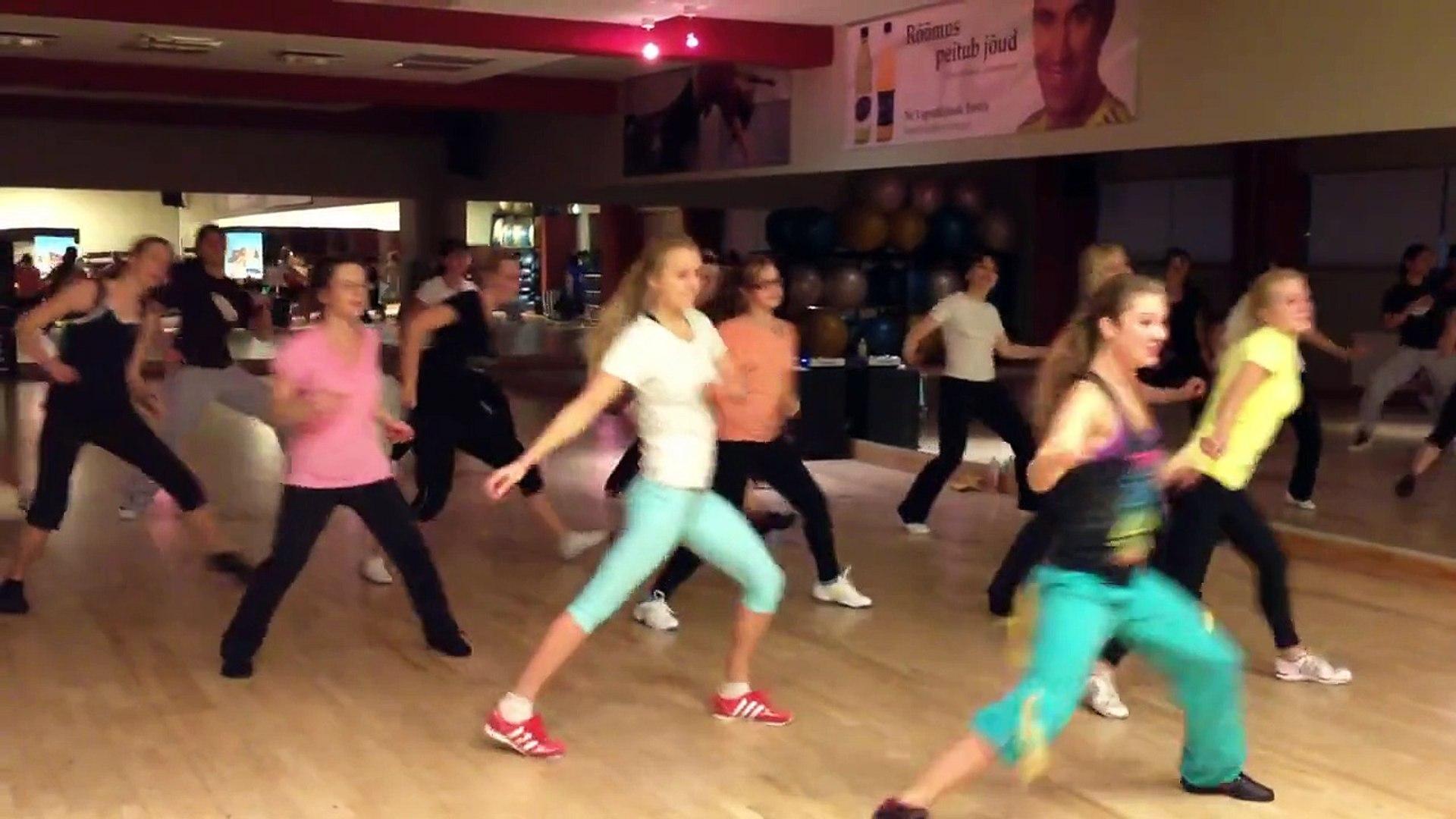 P Square - Alingo Zumba fitness dance by Mariann Kilg