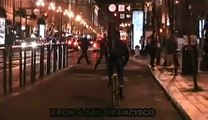 Bicycle Night Lights- People Behaving Badly