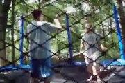 Trampoline Random fun insane flips backflips front Ooh Ah