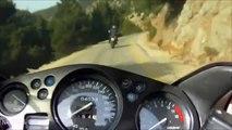 Nikos Deja Vu & The Holy Trinity - 10 minutes (motorcycle) riding on the mountains (Greece)