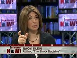 """Naomi Klein on The Shock Doctrine: """"My Fear is Climate Change is the Biggest Crisis of All. 1 of 2"""