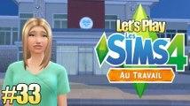 Les Sims 4 Au Travail #33 Ce n'est qu'un au-revoir !