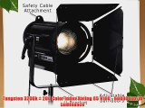 Fotodiox Pro DY-200w Tungsten Fresnel LED High-Intensity LED Fresnel Light for Film