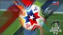 Edinson Cavani Gets Yellow Card Chile 0-0 Uruguay