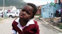 Girl Dancing on Good Friday - Imizamo Yetho Township, South Africa