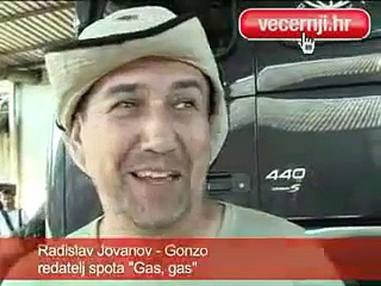 severina, gas gas - snimanje spota, 21.6.2008.