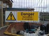 Demolition of Y Tabernacle, Mill Street, Aberystwyth