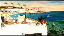 """""""Odysseus and The Mykonos Priest - A Redemption Odyssey- by Michael"""