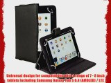 Cooper Cases(TM) Magic Carry Samsung Galaxy Tab S 8.4 (AMOLED) / LTE Tablet Folio Case w/ Shoulder