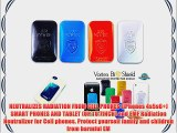4 Units - 1 BLACK 1 RED  1 BLUE  1 WHITE - NEUTRALIZES RADIATION FROM CELL PHONES (iPhones