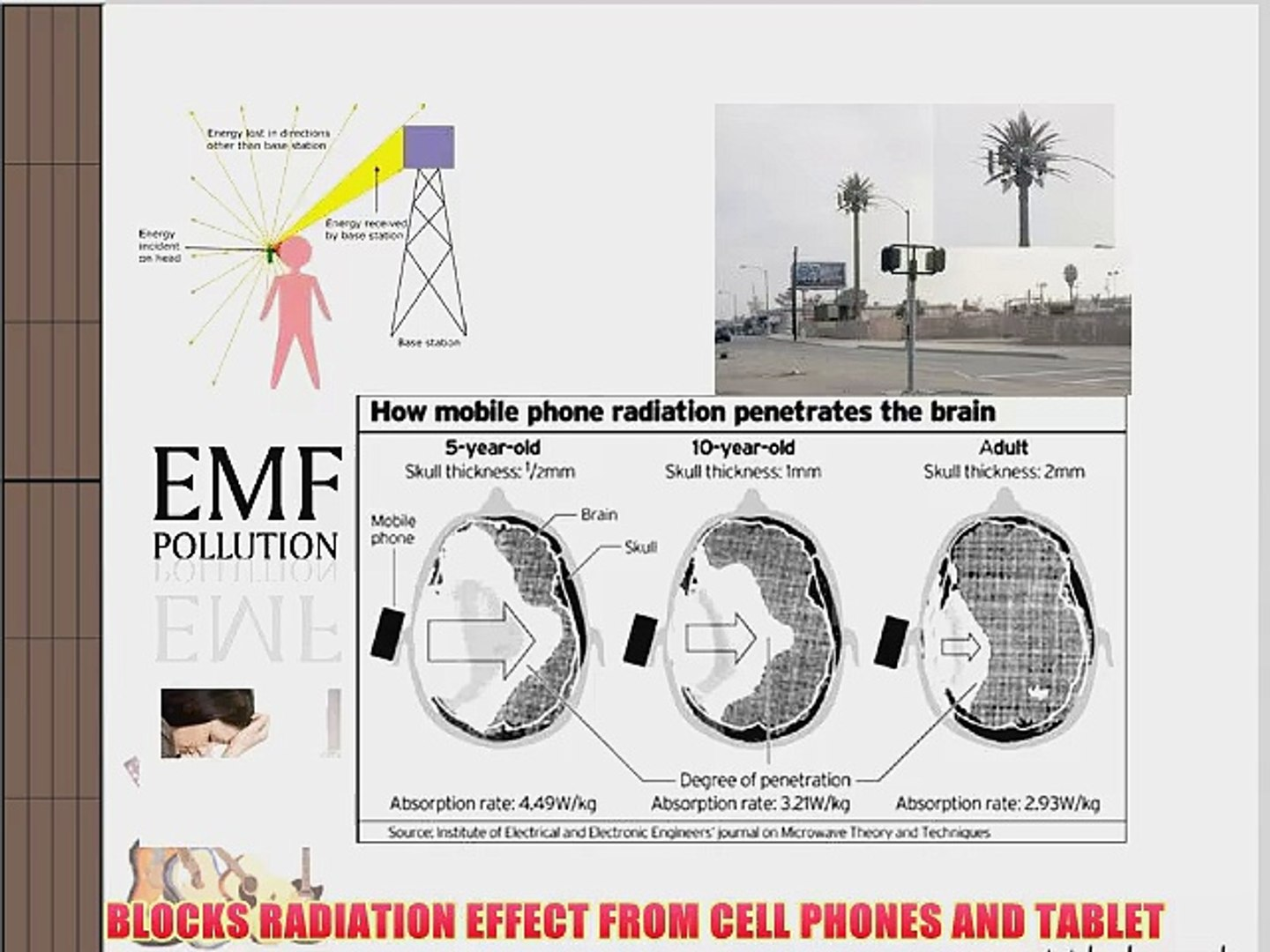 EMF WIFi Radiation protector neutralizer Cell Phones and Small tablets