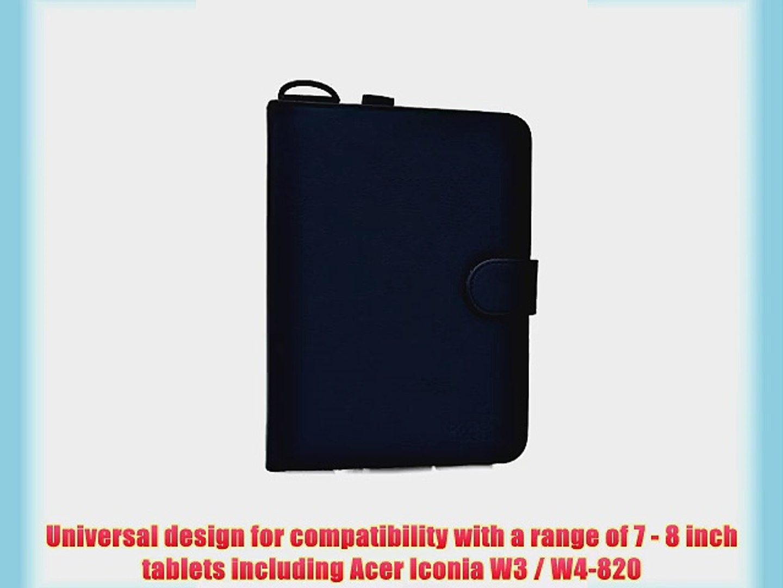 Cooper Cases(TM) Magic Carry Acer Iconia W3 / W4-820 Tablet Folio Case w/ Shoulder Strap in