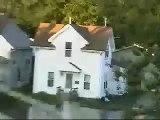 Cedar Rapids, Iowa Flood on June 13, 2008