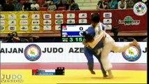 Judo Grand Slam Baku 2013: Ebru SAHIN (TUR) - Otgontsetseg GALBADRAKH (MGL) Final [-48kg]
