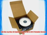 TDK Blu-ray Disc 50 Spindle 50gb 4x BD-R 2011 Printable Version FFP